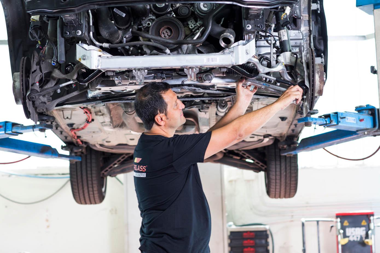 auto bumper vervanging